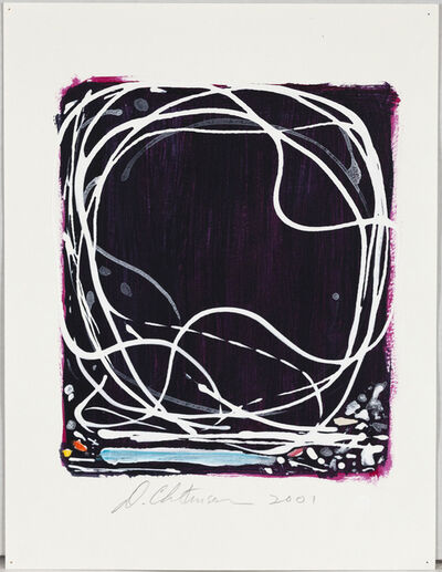 Dan Christensen, 'Untitled (Licorice)', 2001