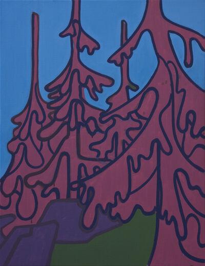 Hubert Schmalix, 'Soft Trees 1', 2018