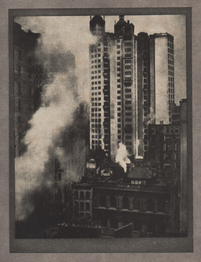 Alvin Langdon Coburn, 'The Park Row Building', Neg. date: 1909 c. / Print date:1909