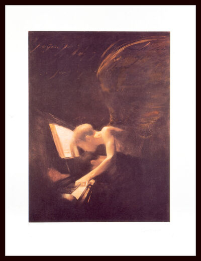 Charlie Mackesy, 'Angel and Piano', ca. 1995