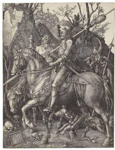 Albrecht Dürer, 'Knight, Death and the Devil (B. 98; M., Holl. 74; S.M.S. 69)', 1513