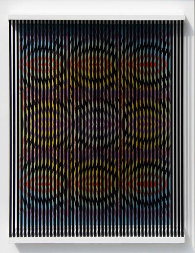 Alberto Biasi, 'Apri (e chiudi) gli occhi', 2011