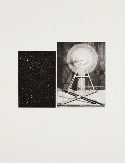 Vija Celmins, 'Concentric Bearings A', 1984