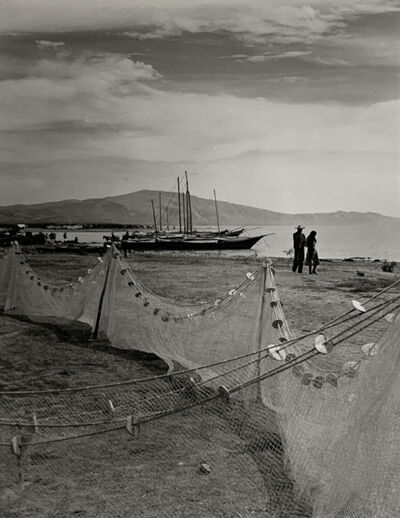 Ernest Knee, 'Chapala Lake Front: Lake Chapala, Jalisco, Mexico', 1941