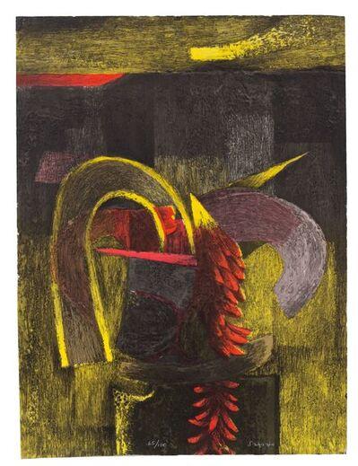 Fernando de Szyszlo, 'Formas en amarillo y rojo', ca. 2003