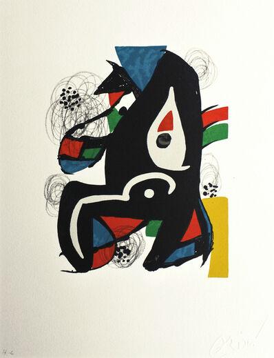 Joan Miró, 'La mélodie acide nr 1221', 1980
