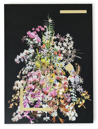 Stephen Eichhorn, 'Orchid Stack (Gold Voids II)', 2016