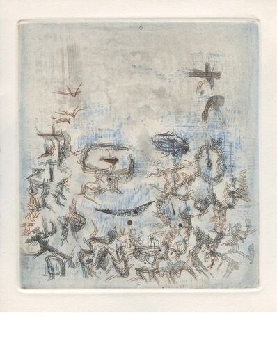 Zao Wou-Ki 趙無極, 'Les Compagnons dans le jardin', 1957