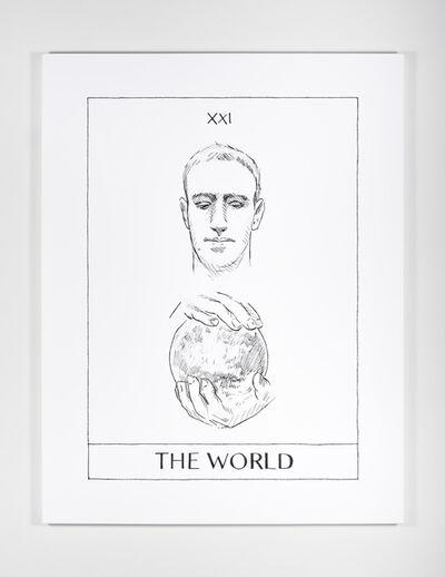Mieke Marple, 'The World (Mark Zuckerberg)', 2018