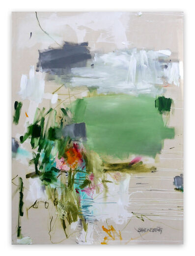 Daniela Schweinsberg, 'A Breath of Summer VII (Abstract Expressionism painting)', 2020