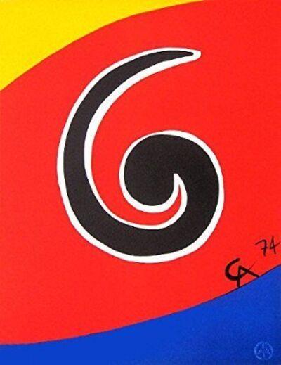 Alexander Calder, 'Sky Swirl', 1974