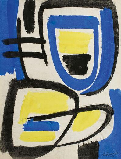 Gérard Schneider, 'Untitled', 1949