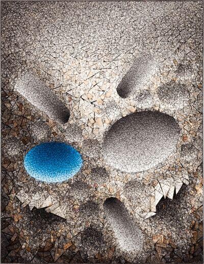 Chun Kwang Young, 'Aggregation 08 - JL016 Blue', 2008