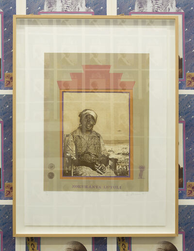 Sue Williamson, 'A Few South Africans: Nokukanya Luthuli', 1983