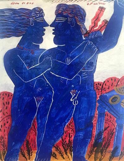 Alekos Fassianos, '(SP) Adam and Eve', 2018