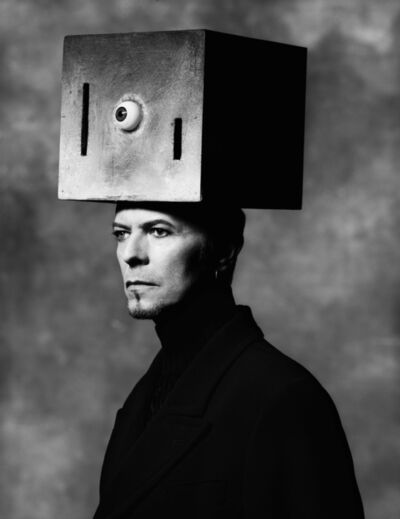 Albert Watson, 'David Bowie (Box on Head)', 1996
