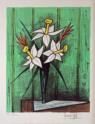 Bernard Buffet, 'Bouquet de Jonquilles', 1986