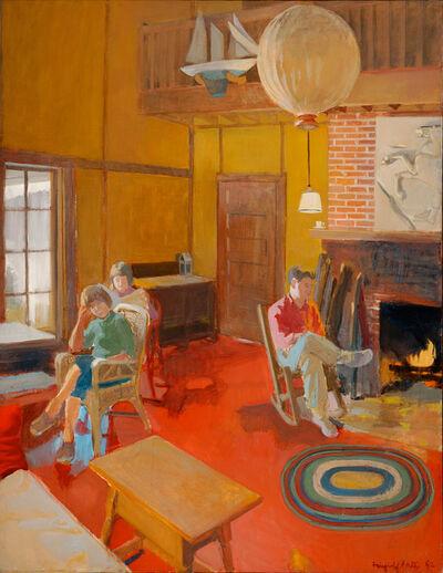 Fairfield Porter, 'A Day Indoors', 1962