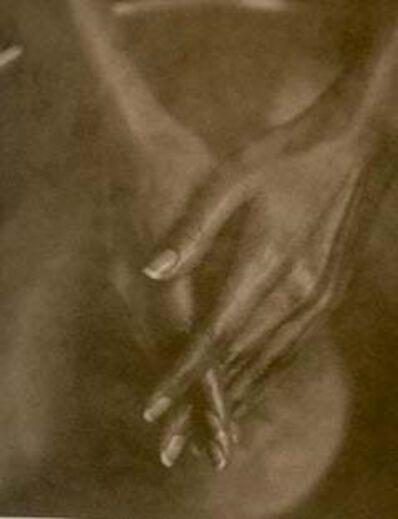 John Casado, 'Woman's Hands / lith silver gelatin print / unique still life', 2000