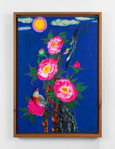 Kim Yongchul, 'Peony and Birds', 2019