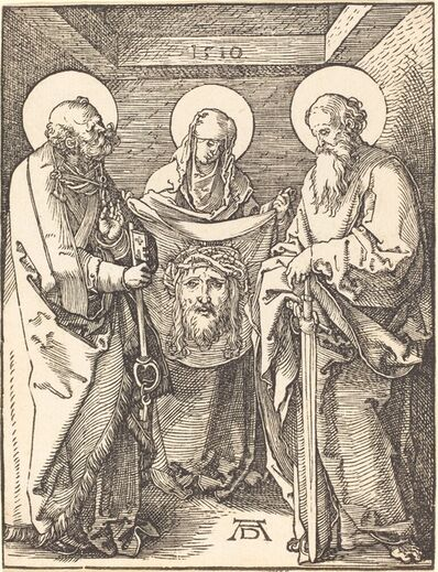 Albrecht Dürer, 'Saint Veronica between Saints Peter and Paul', 1509