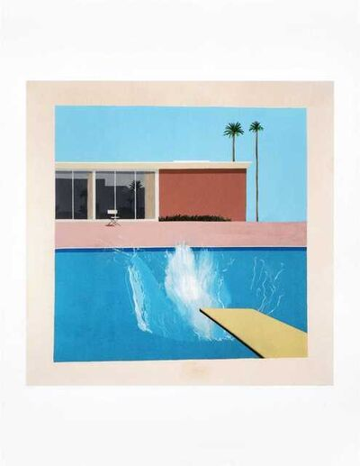 David Hockney, 'A Bigger Splash 1967, Red Pots In The Garden 2000 & Gardens 2015'
