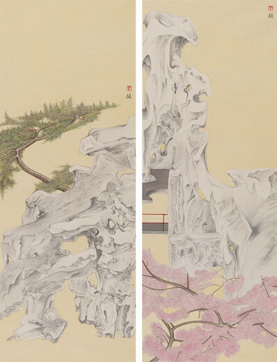 Luo Ying, 'Elegant Offering Series No. 7 and No. 8', 2014