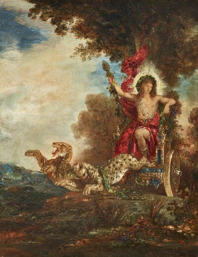 Gustave Moreau, 'The triumph of Bacchus', ca. 1875