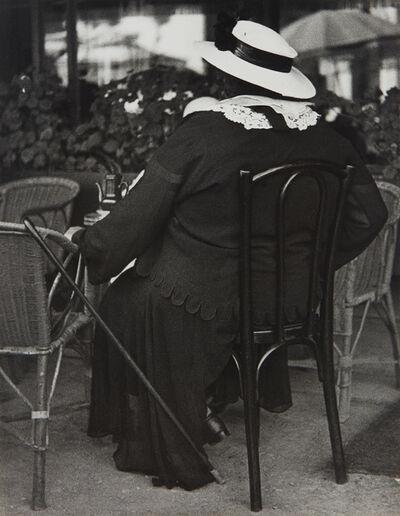 Lisette Model, 'Famous Gambler, French Riviera', 1934