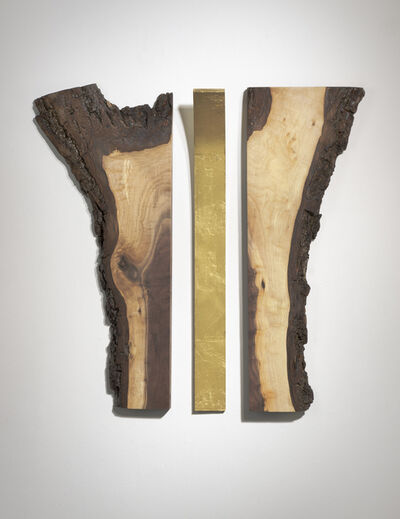 Betty McGeehan, 'Minimal Wood Abstract Sculpture: 'Reflection'', 2015-18