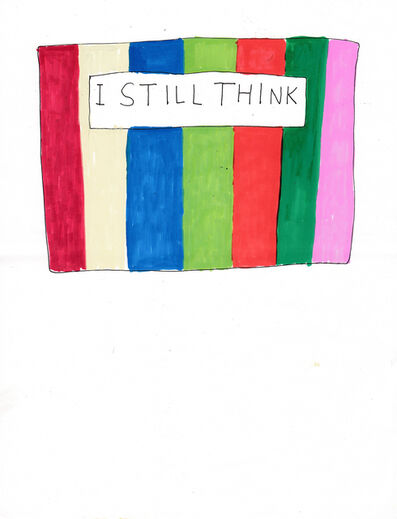Jim Torok, 'I Still Think', 2014