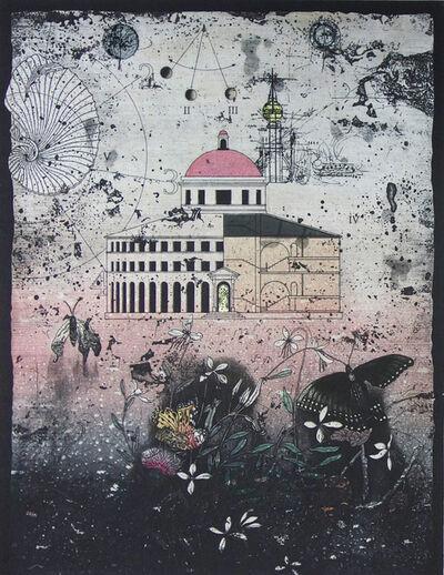 Yoshio Imamura, 'Garden where the Gaura flower bloom', 2020