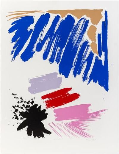 Friedel Dzubas, 'Night Star', 1984