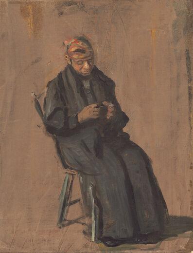 Thomas Eakins, 'The Chaperone', ca. 1908