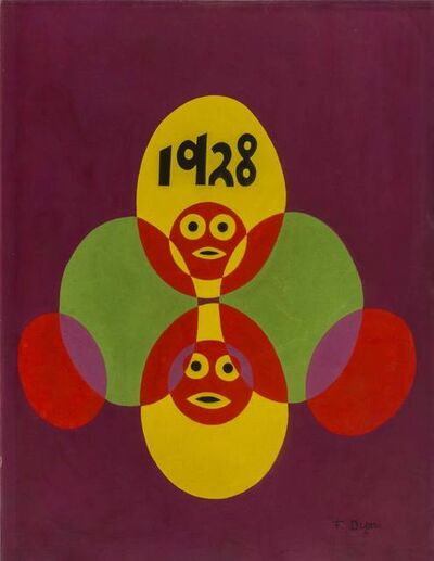 Fortunato Depero, 'Pupazzi', 1928