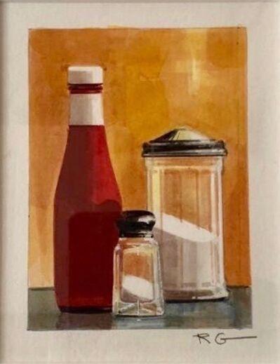 Ralph Goings, 'Ketchup, Salt and Sugar', nd