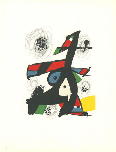 Joan Miró, 'La mélodie acide - 5', 1980