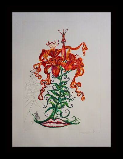 Salvador Dalí, 'Florals Tiger Lillies', 1972