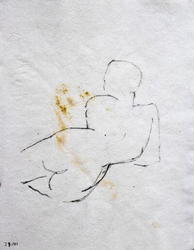 Beya Gilles Gacha, '28/01 - Study of a Body', 2019