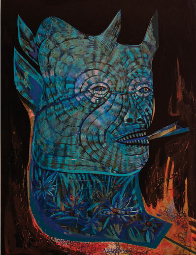 JON TODD, 'Blue Devil / Kite', 2017
