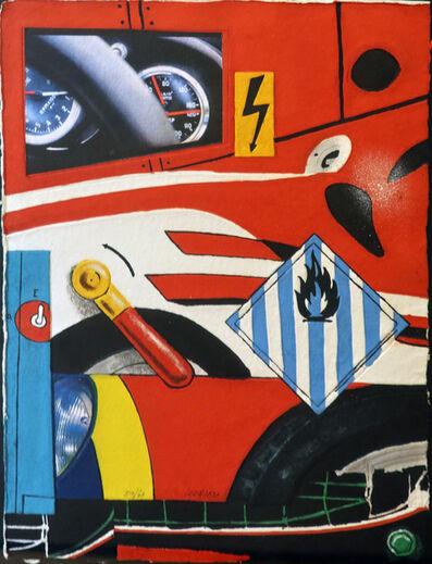 Peter Klasen, 'Ferrari', 2015
