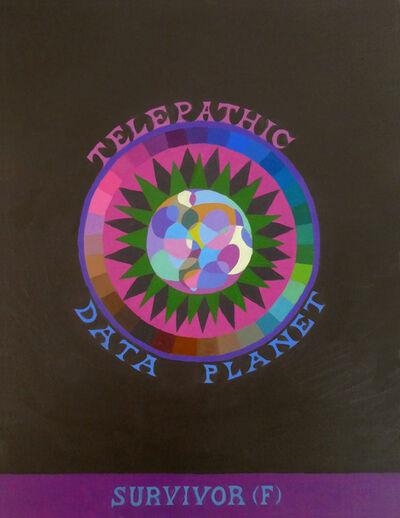 Suzanne Treister, 'SURVIVOR (F)/Telepathic Data Planet  ', 2019