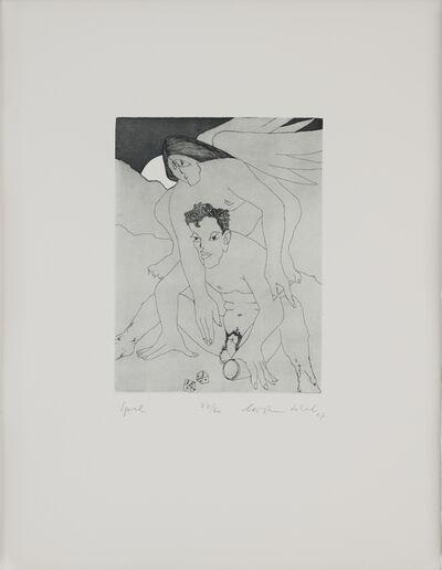 Christian Schad, 'Ödipiade oder Sorgen eines Engagierten / Spiel', 1967