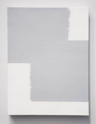 David Thomas, 'When 2 Directions Become All Directions (Light Gray)', 2015