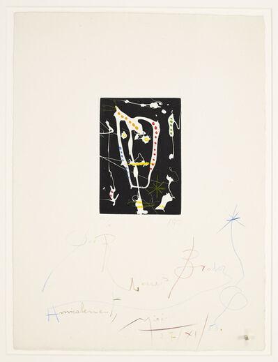 Joan Miró, 'Les Brisants', 1958