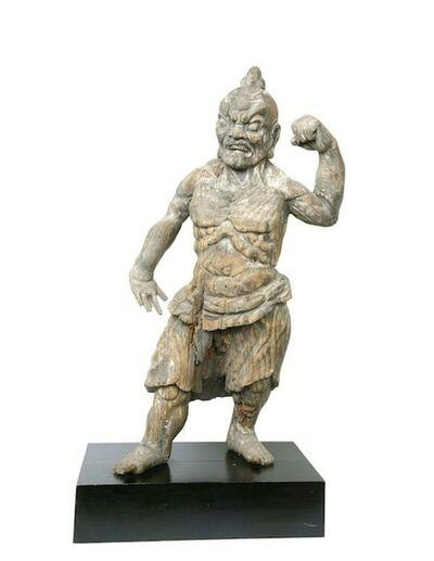 Unknown Japanese, 'Temple Figure, Nio', Muromachi/Momoyama Period (15th -16th Century)