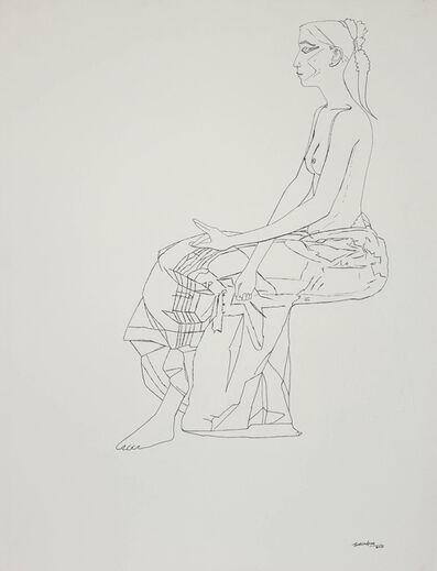 Surendran Nair, 'Untitled (Drawing 25)', 2015