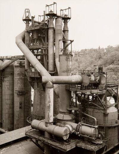 Bernd and Hilla Becher, 'Blast Furnaces, Pittsbourgh PA and Cleveland OH, (6 works)', circa 1980