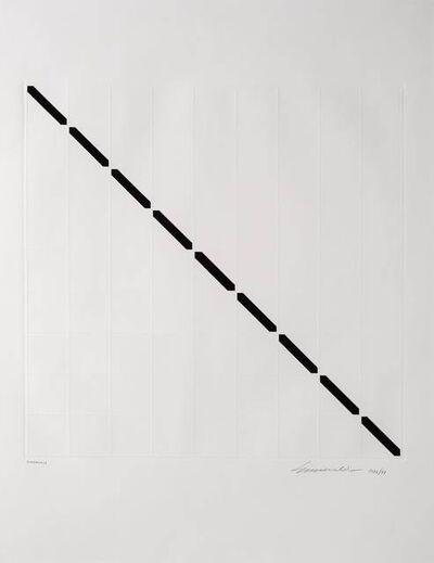 Sérvulo Esmeraldo, 'Diagonale', 1976/77