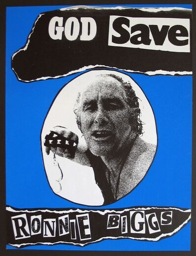 Jamie Reid, 'God Save Ronnie Biggs', 1979